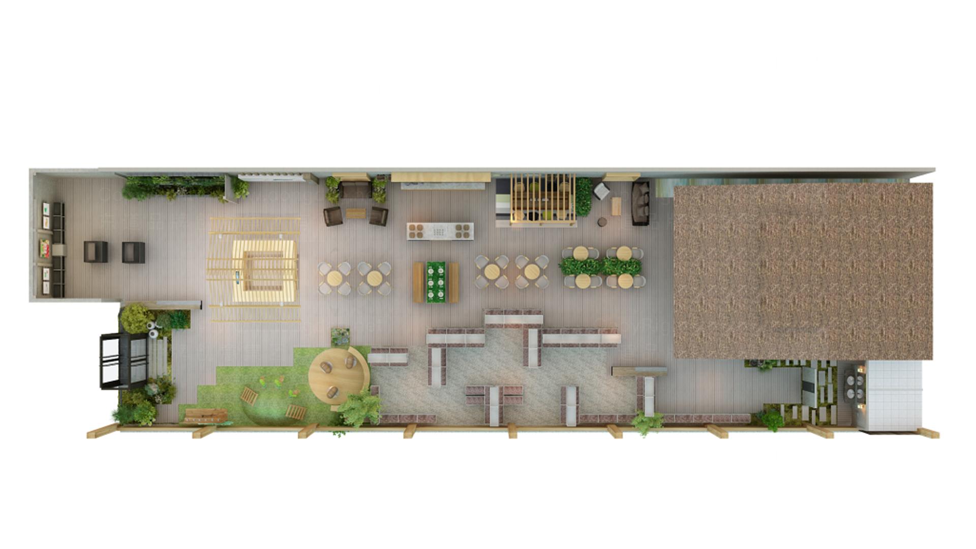 商业空间&导示奥一农场农场SI设计应用场景_2