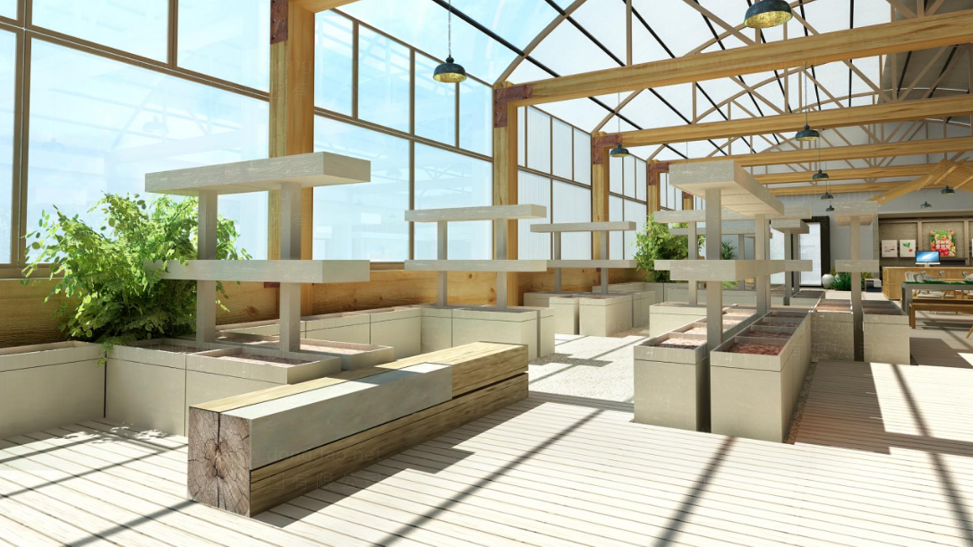 商业空间&导示奥一农场农场SI设计应用场景_5