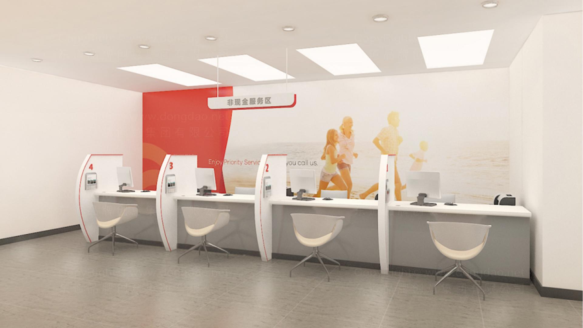商业空间&导示东莞银行自助网点SI设计应用