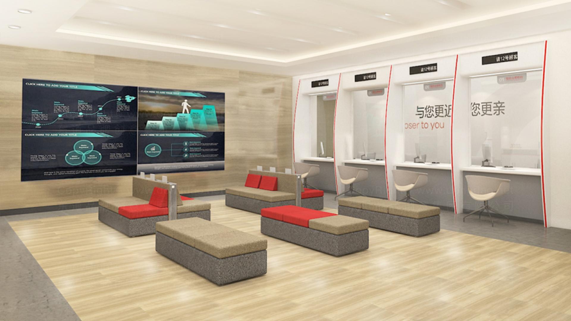 商业空间&导示东莞银行自助网点SI设计应用场景