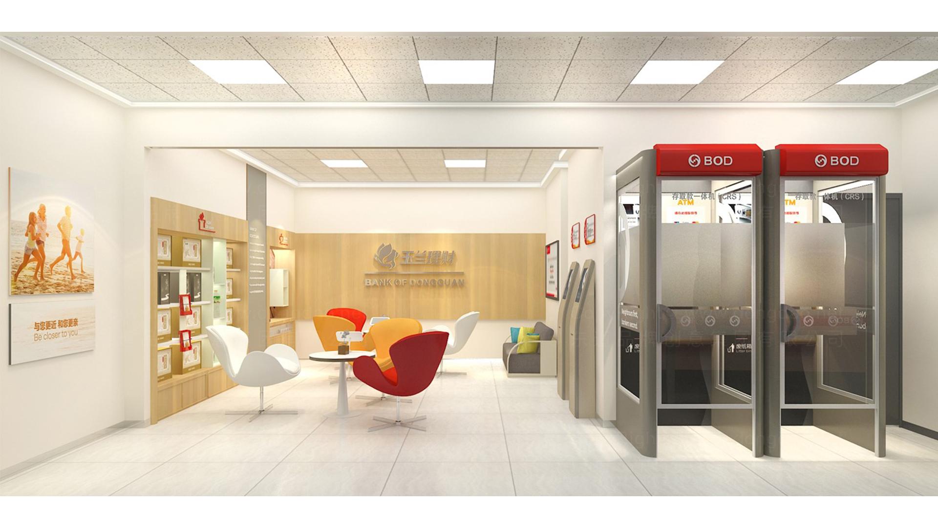商业空间&导示东莞银行自助网点SI设计应用场景_2