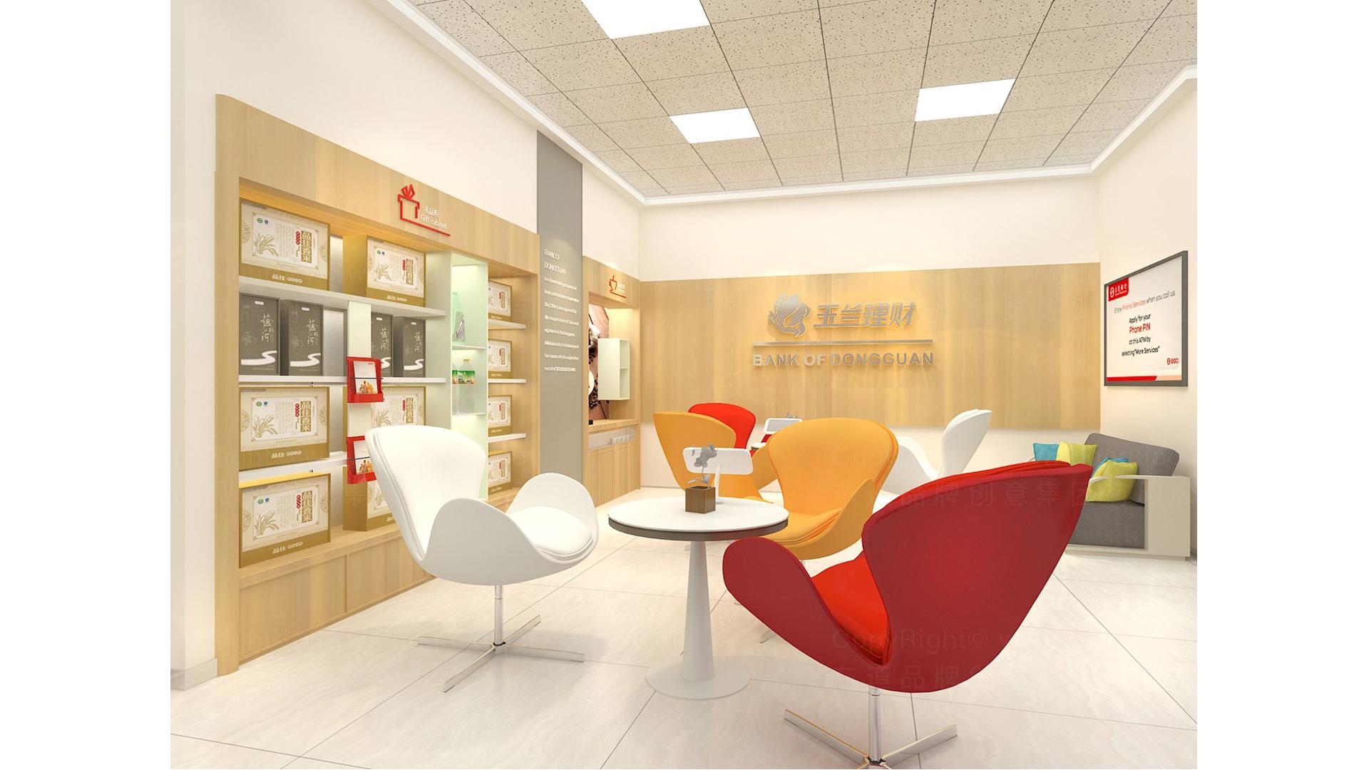 商业空间&导示东莞银行自助网点SI设计应用场景_3