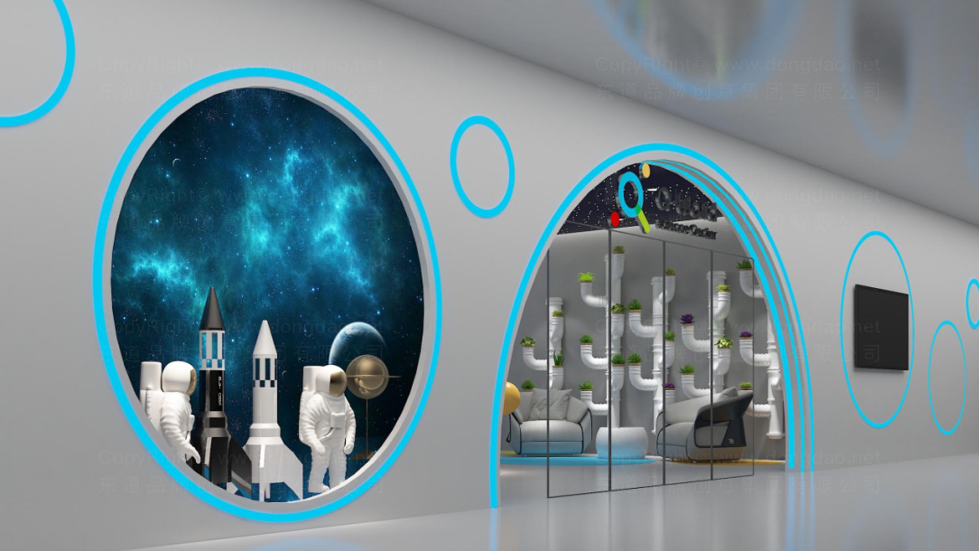 商业空间&导示案例量子世界SI设计