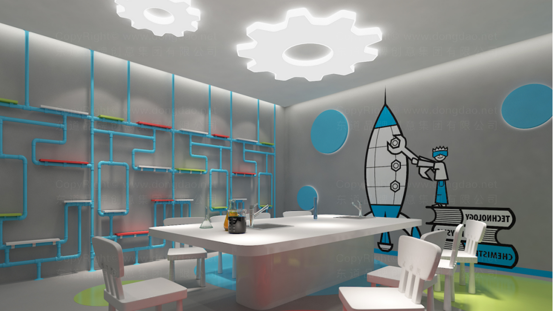 商业空间&导示量子世界SI设计应用场景_4