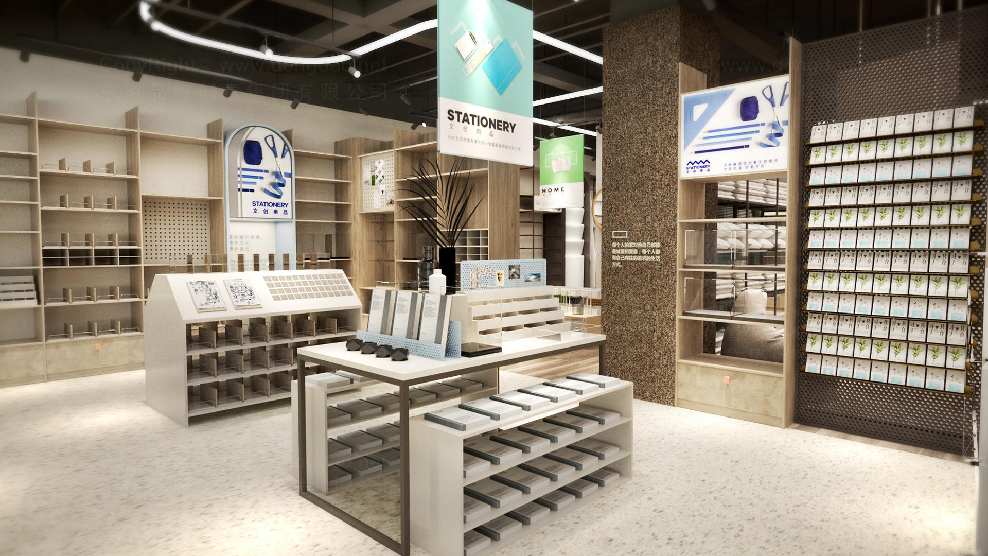 零售购物西范优选新零售终端SI设计