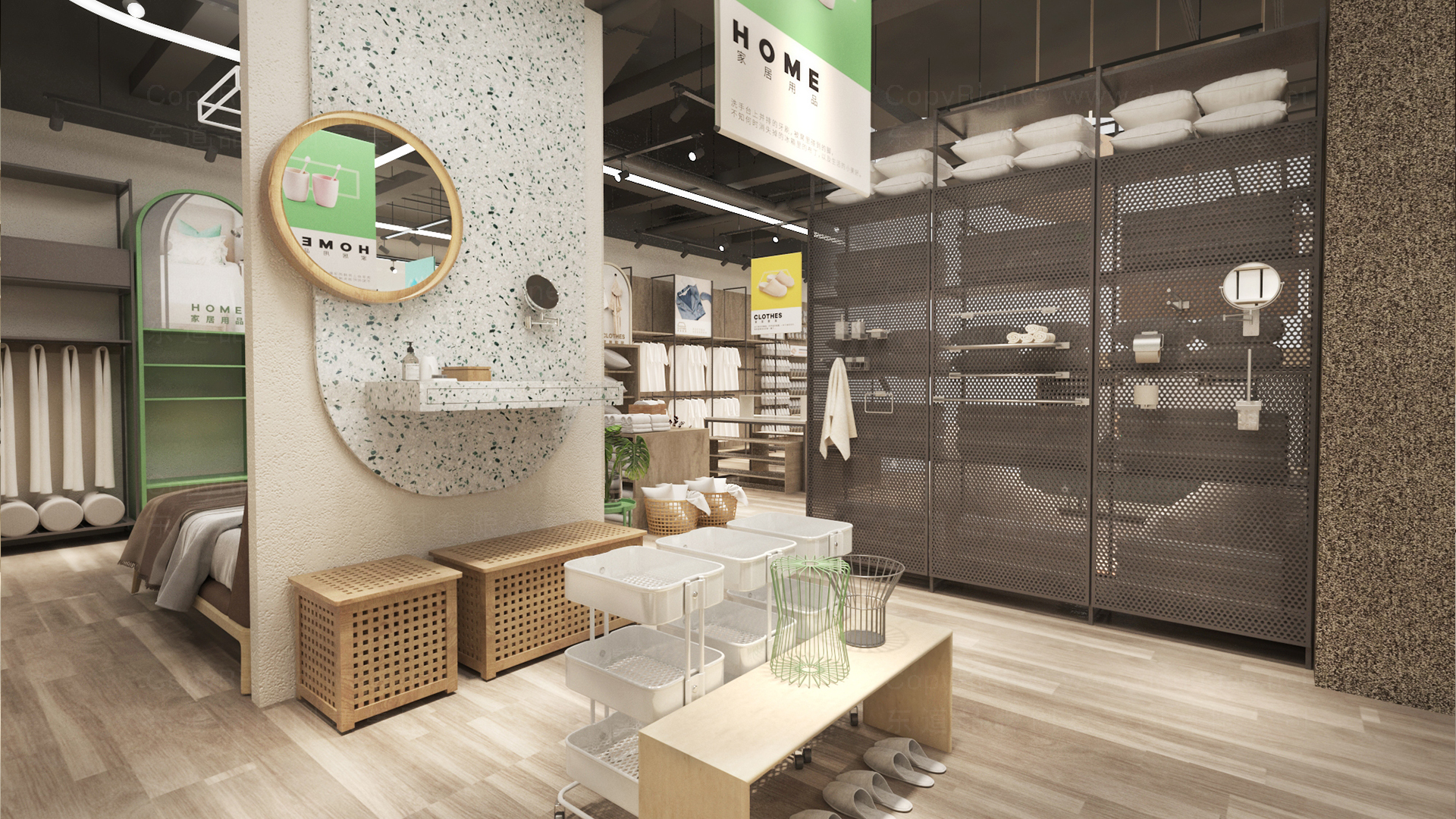 西范优选新零售终端SI设计应用