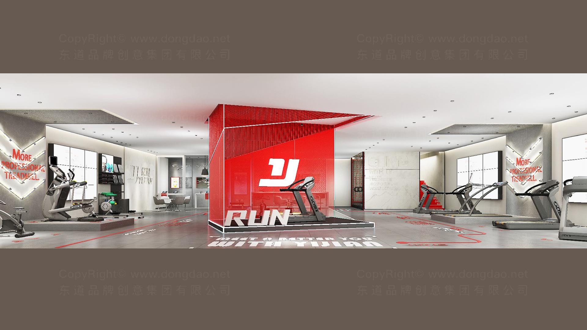 文体娱媒商业空间&导示亿健健身新零售终端SI设计