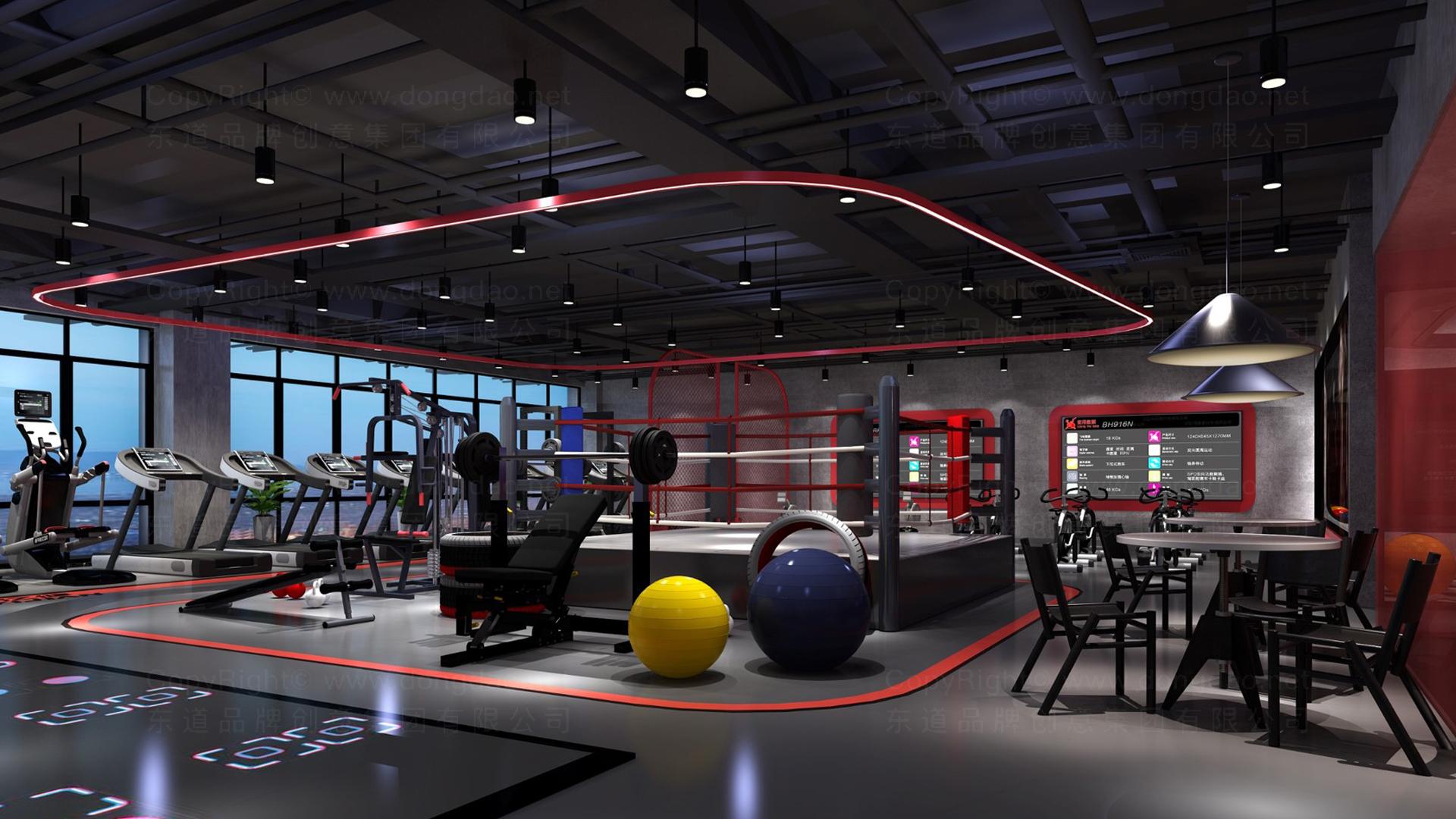 商业空间&导示亿健健身新零售终端SI设计应用场景_2