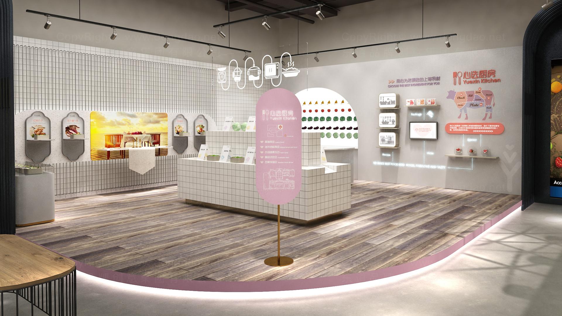商业空间&导示悦心生活SI设计应用场景