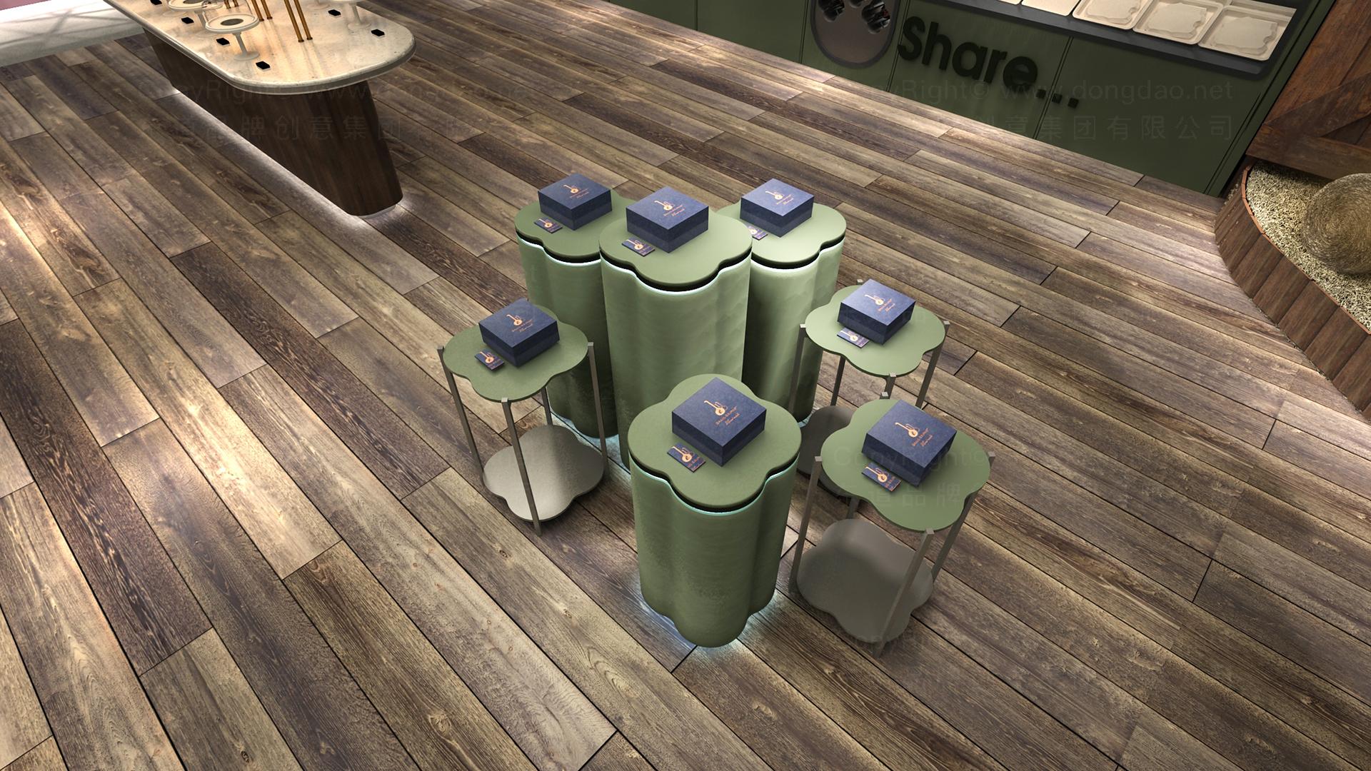 商业空间&导示悦心生活SI设计应用场景_3