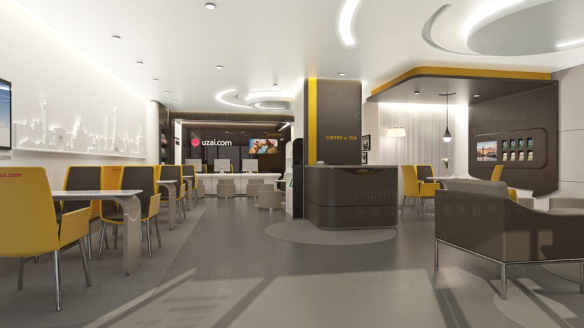 商业空间&导示众信旅游SI设计应用场景_1
