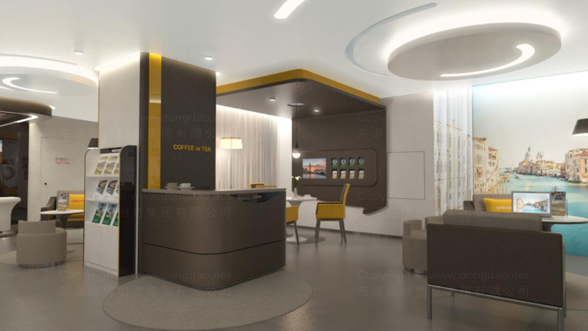 商业空间&导示众信旅游SI设计应用场景_2