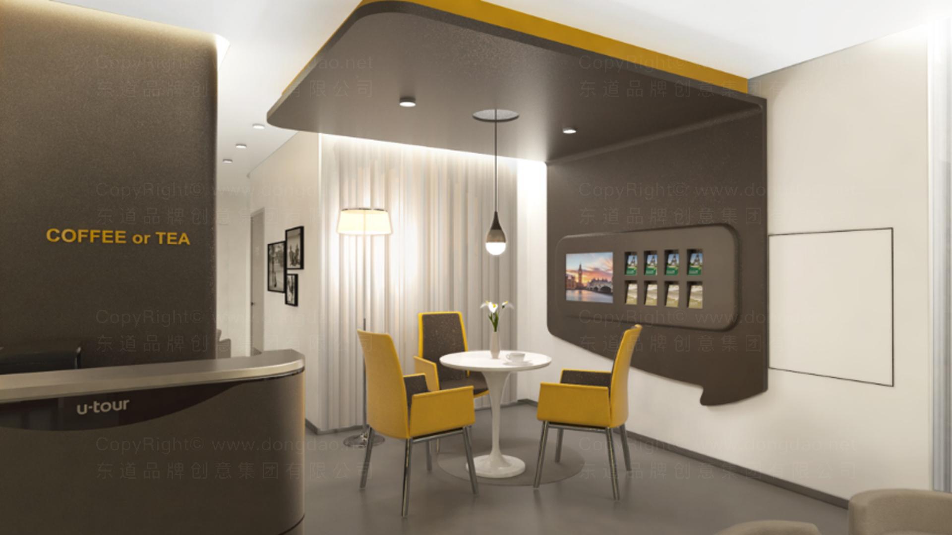 商业空间&导示众信旅游SI设计应用场景_4