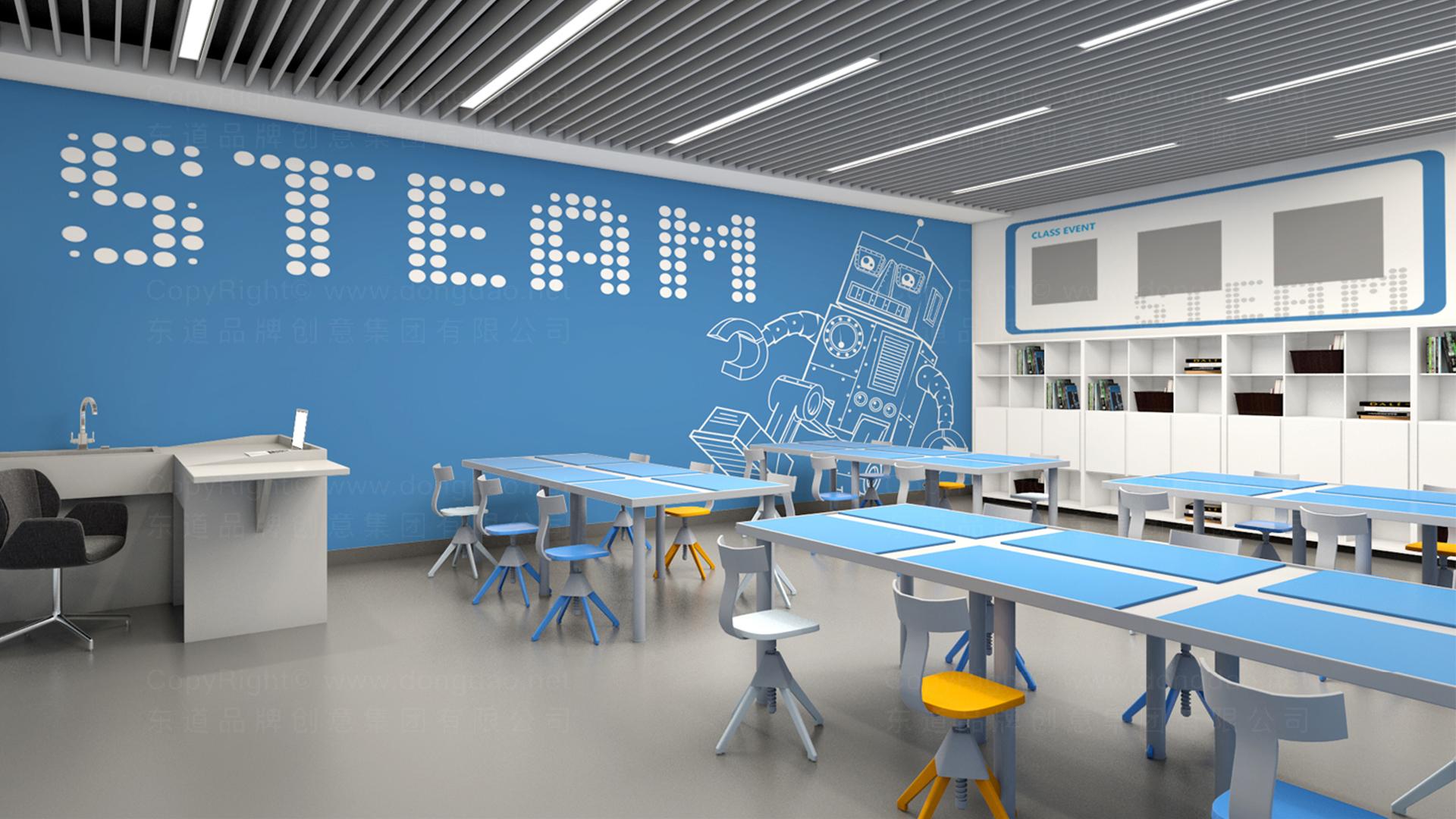 商业空间&导示案例优创智合虚拟店SI平面布局图设计