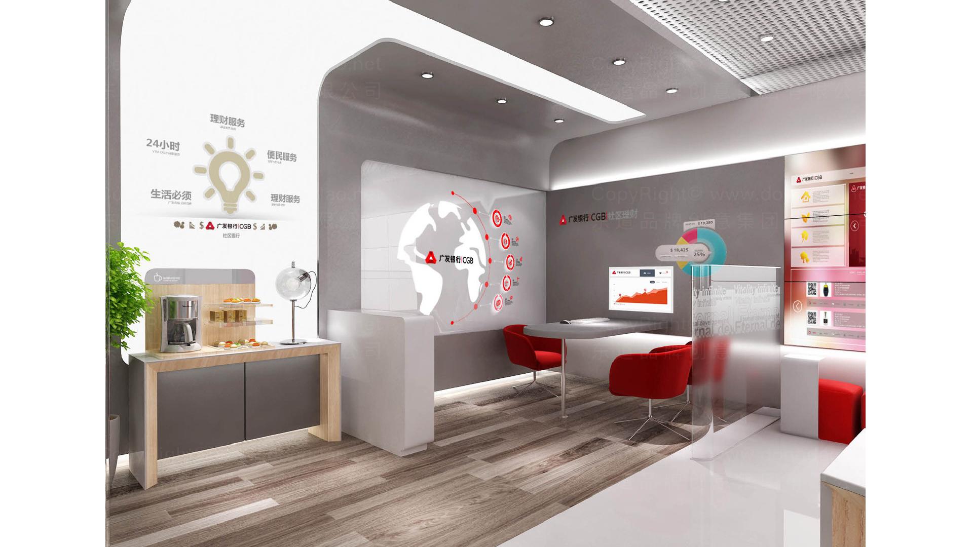 商业空间&导示广发银行社区支行标准化装修方案及标准手册设计应用场景