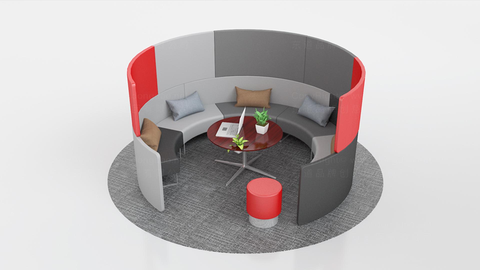 商业空间&导示辽阳银行银行网点风格设计应用场景_3