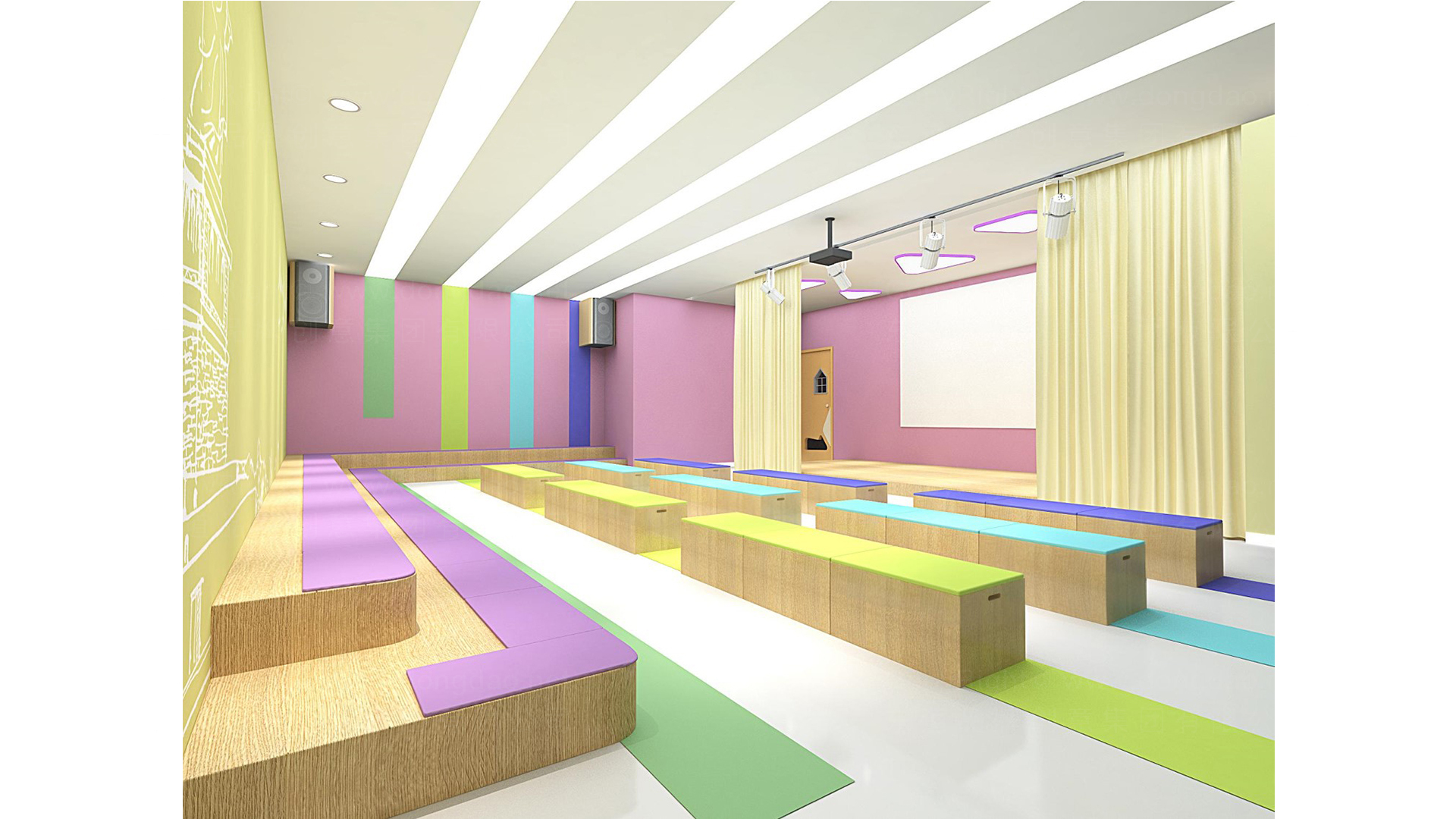 商业空间&导示瑞思SI门店概念设计应用场景_3