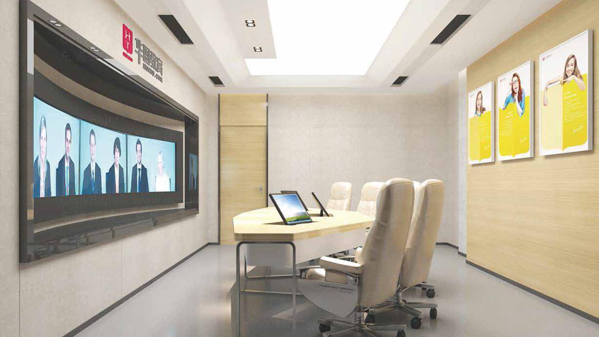 商业空间&导示华图教育终端SI设计应用场景