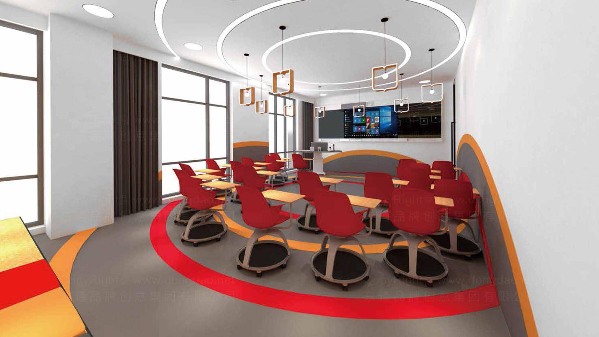 商业空间&导示华图教育终端SI设计应用场景_2