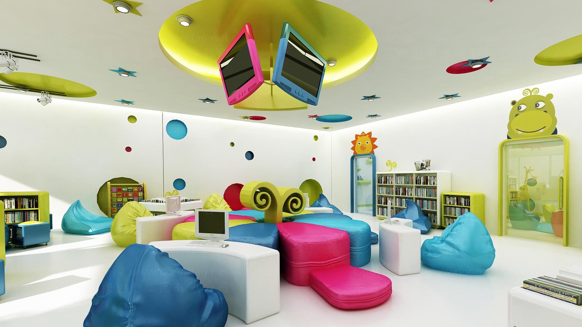 银行金融图豆图书馆图书馆终端SI设计