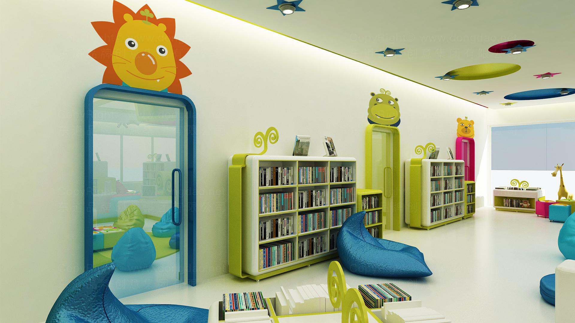 图豆图书馆图书馆终端SI设计应用
