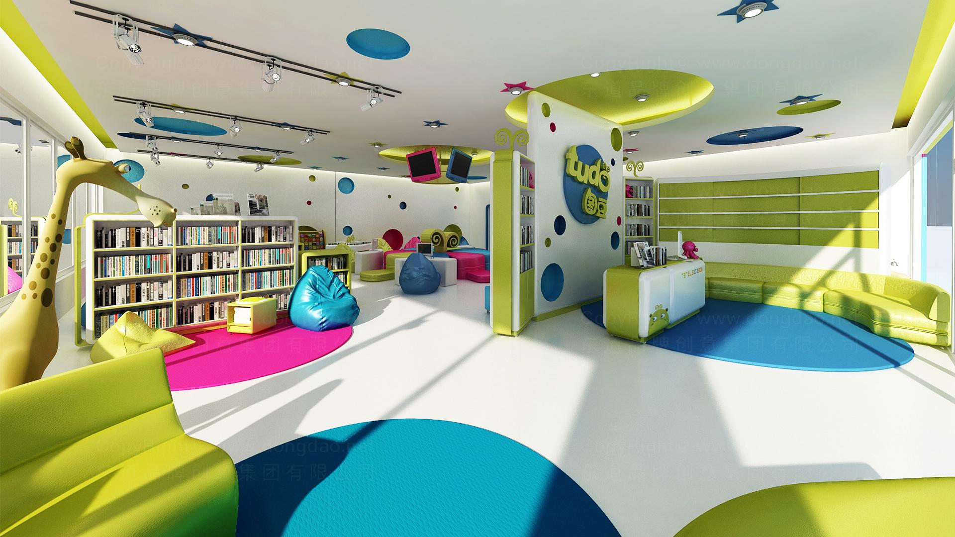 图豆图书馆图书馆终端SI设计应用场景