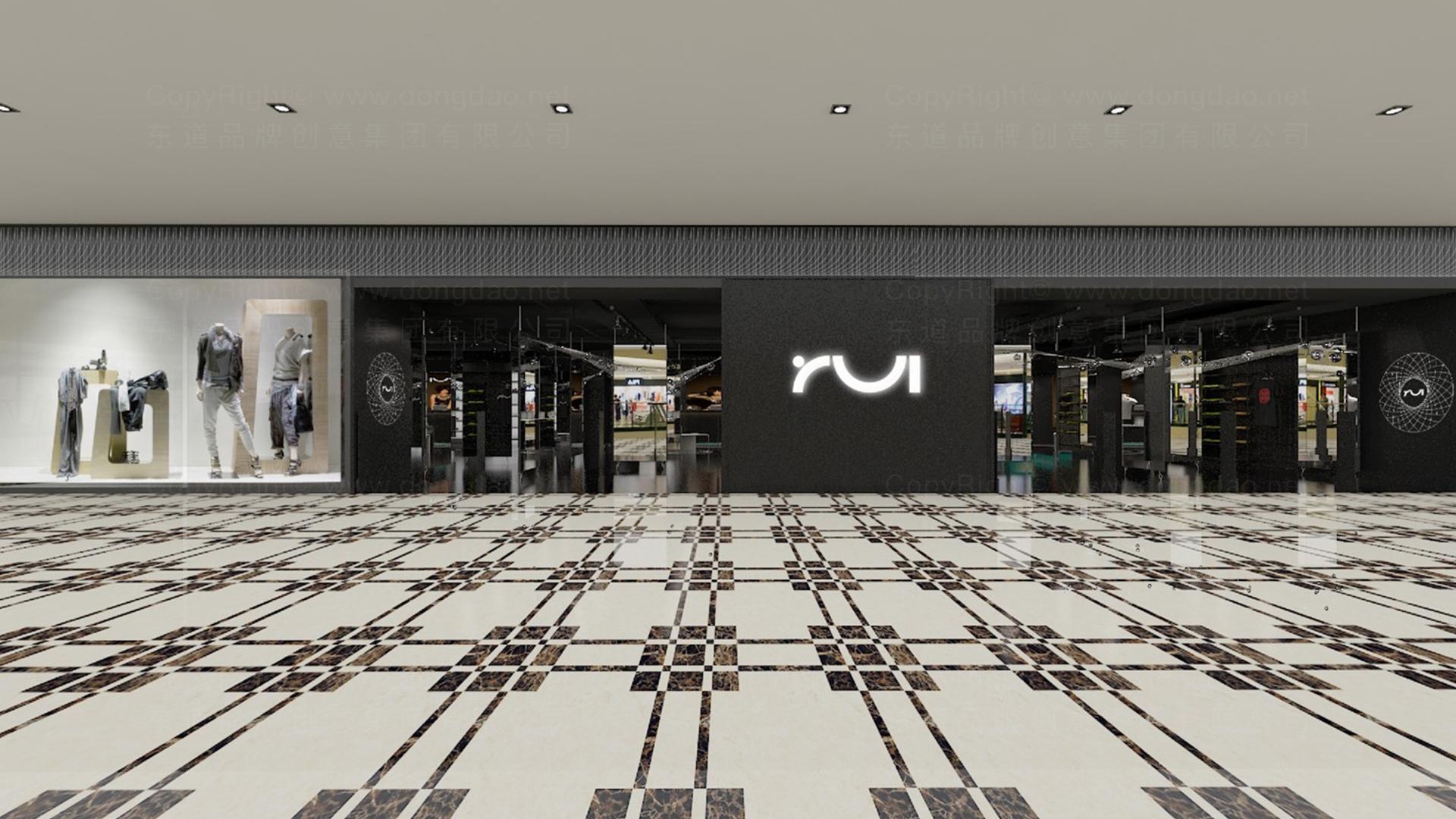 案例Rui新零售终端SI设计