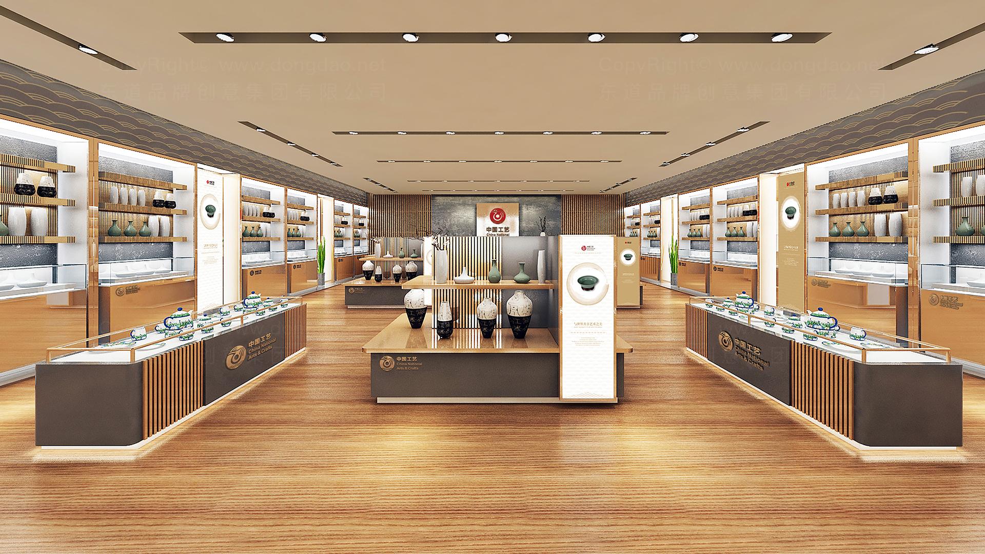 商业空间&导示中国工艺集团新零售终端SI设计应用