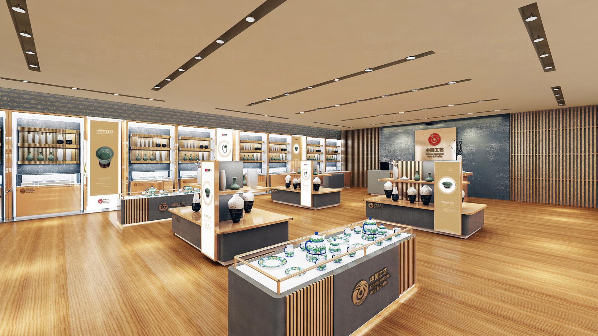 商业空间&导示中国工艺集团新零售终端SI设计应用场景