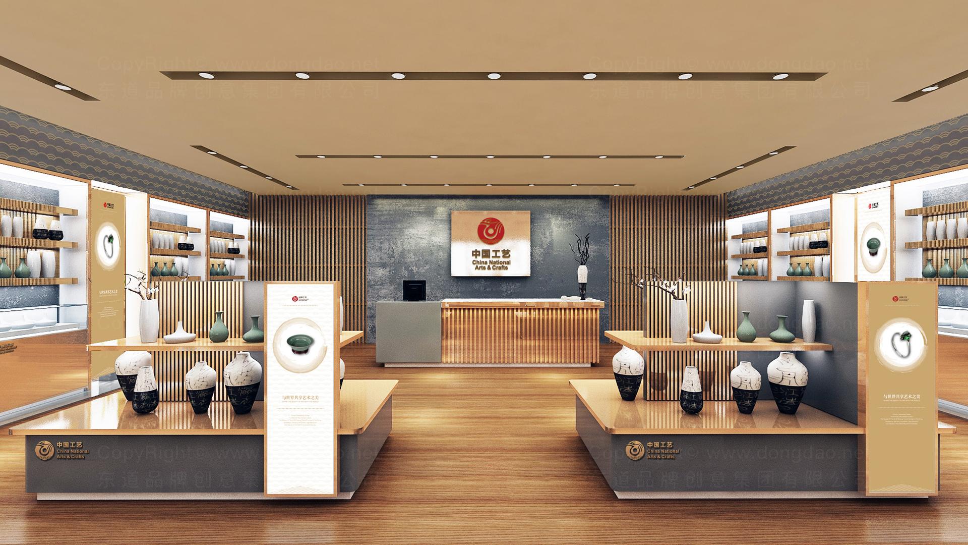 商业空间&导示中国工艺集团新零售终端SI设计应用场景_1