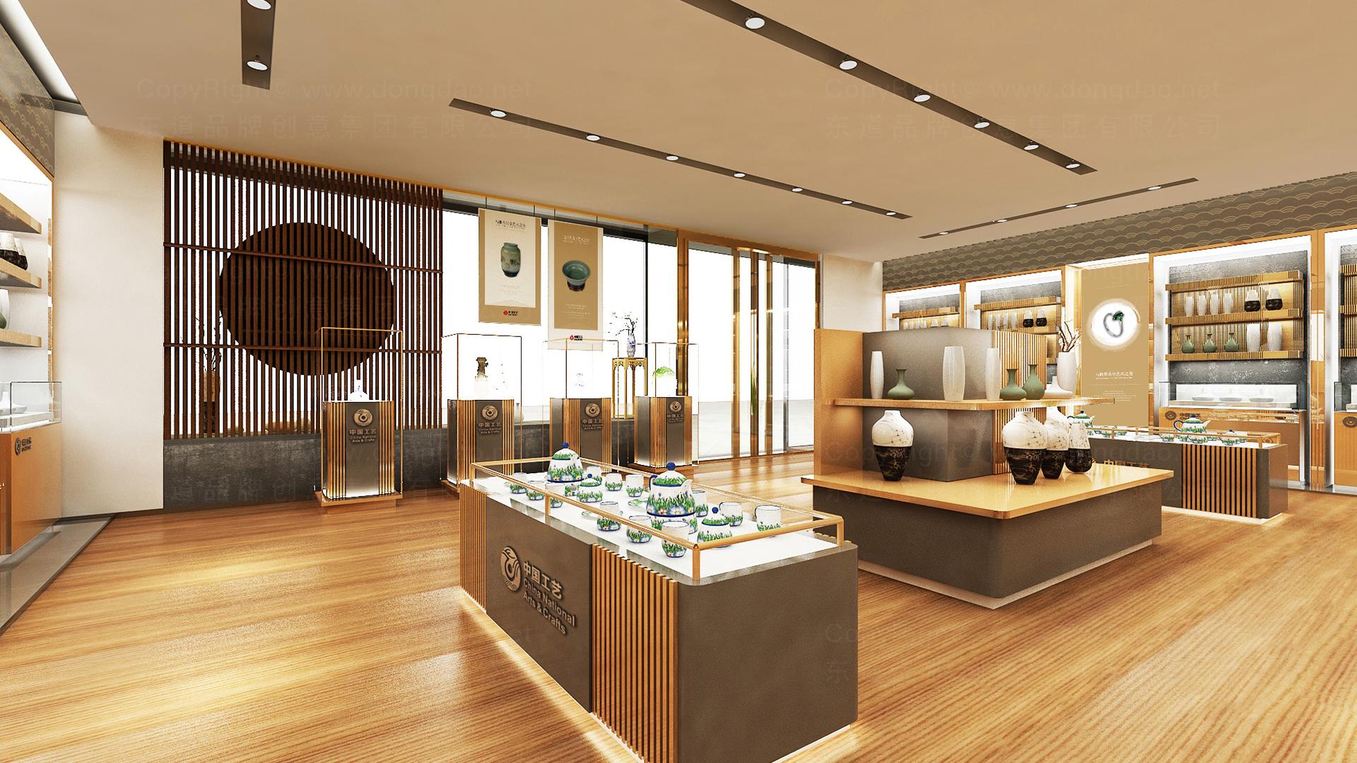商业空间&导示中国工艺集团新零售终端SI设计应用场景_2