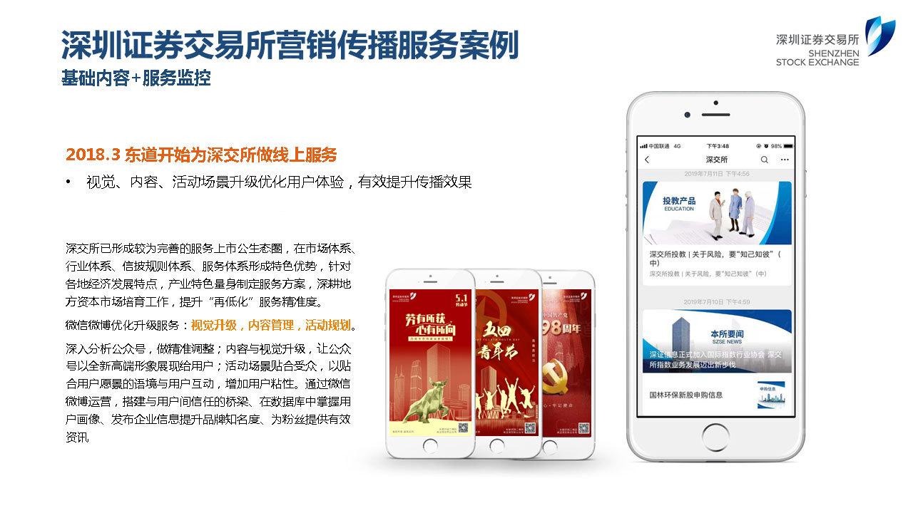 深圳证券交易所双微运营