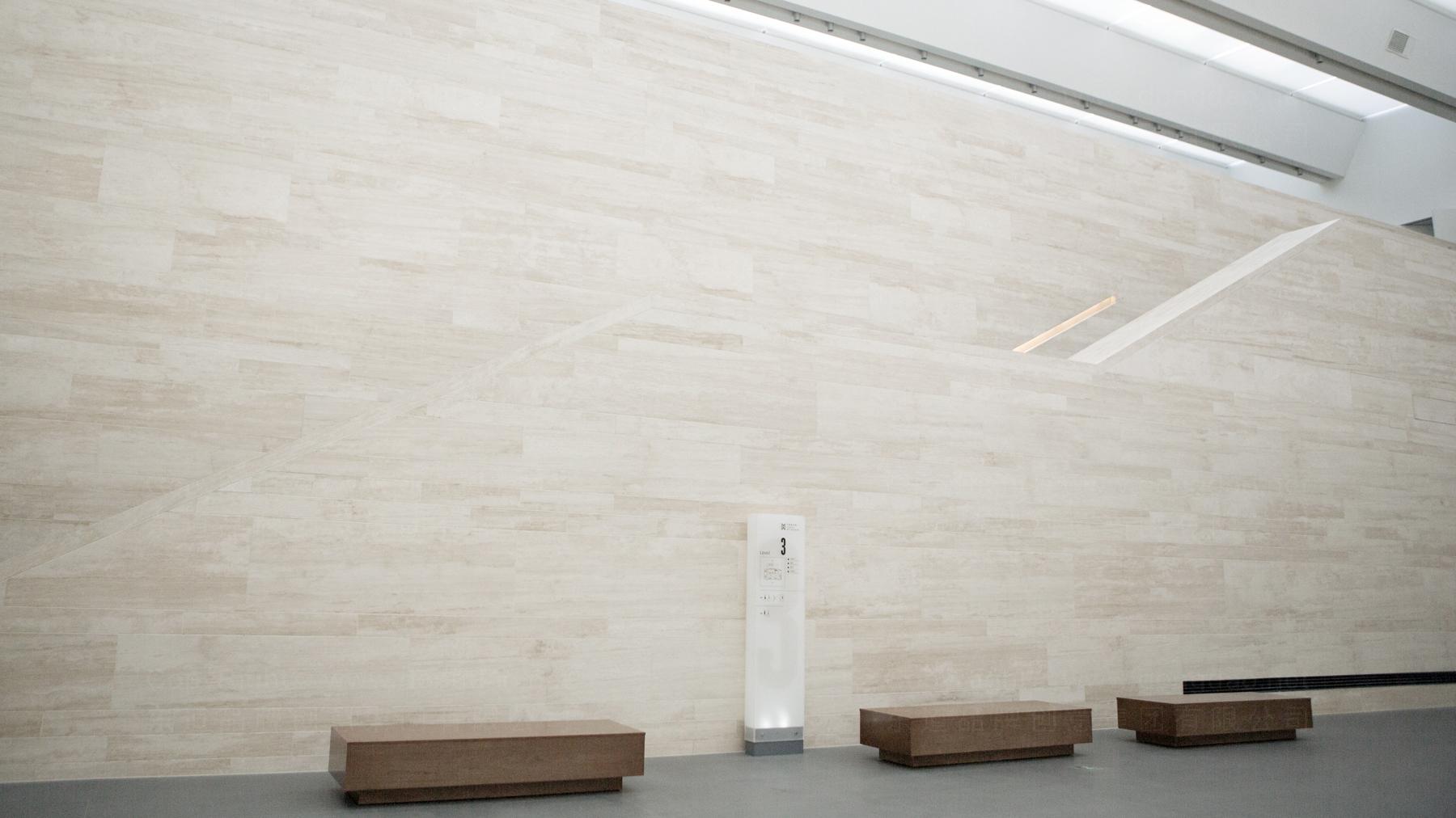 落地工程案例天津美术馆展览展示空间制作