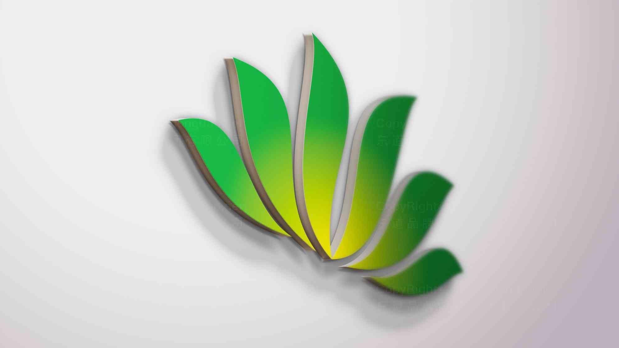 品牌设计案例天津中新生态城LOGO&VI设计