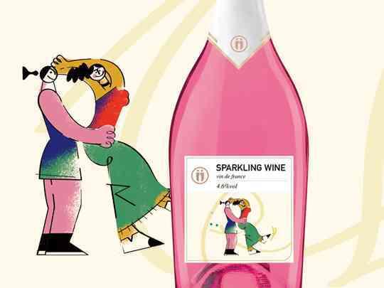 产品包装香槟系列U-Day产品包装方案