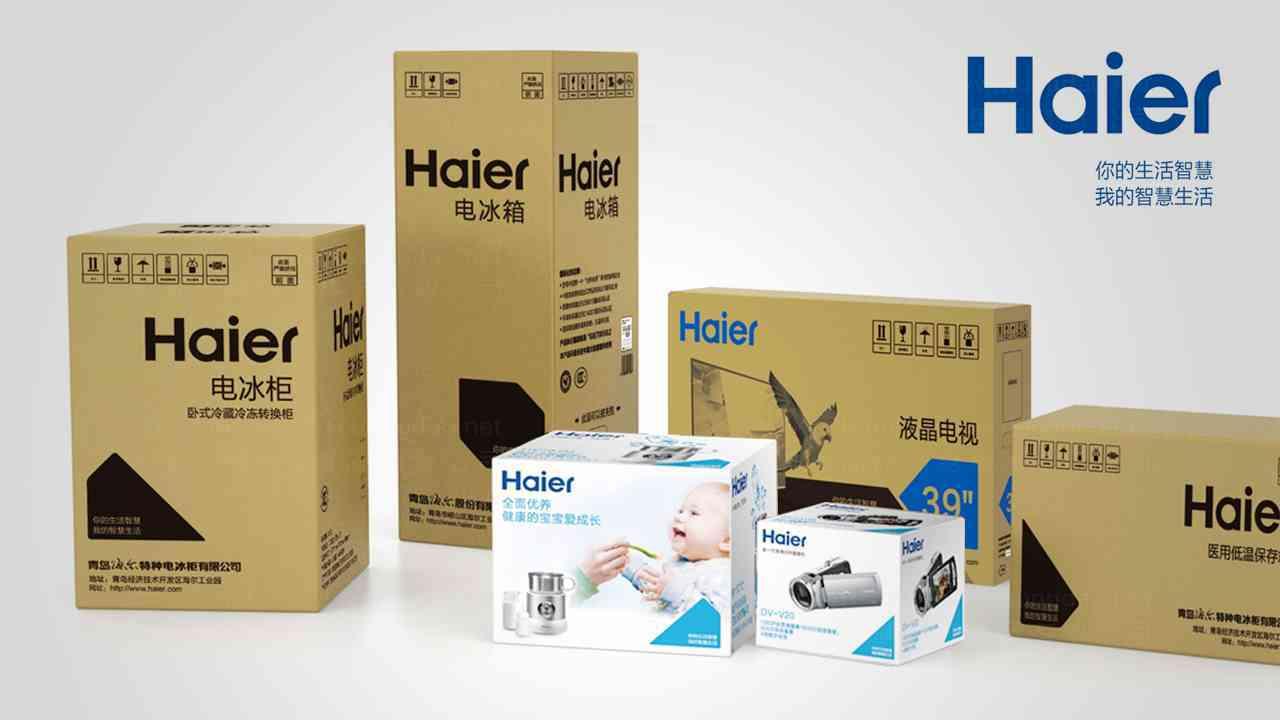 海爾產品包裝規范設計