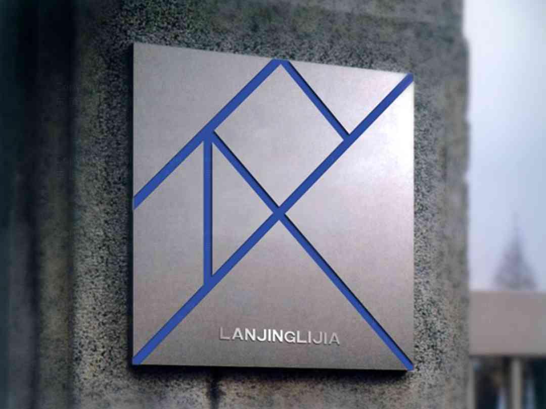 品牌设计LOGO&VI设计蓝景丽家品牌设计方案
