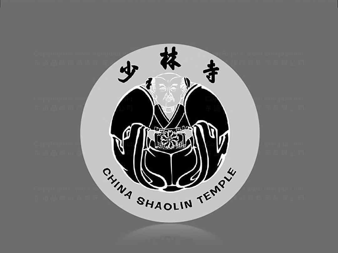 少林寺logo设计