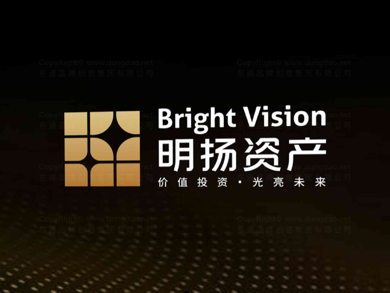 品牌设计logo设计、vi设计明扬资产品牌设计方案