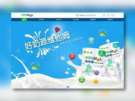 东道数字网站设计维他姆东道数字方案