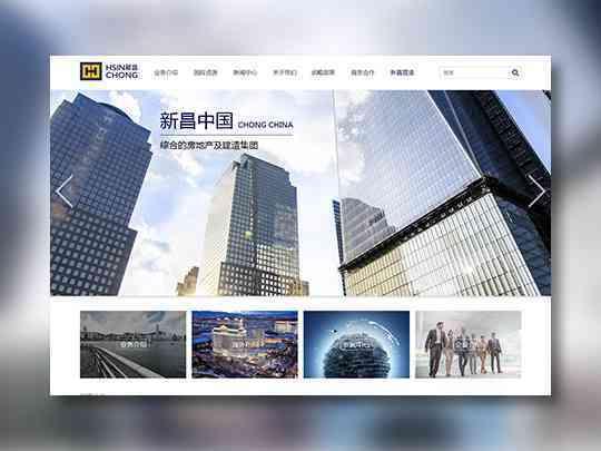 东道数字网站设计新昌控股东道数字方案