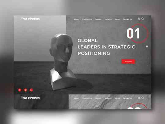 咨询公司网站设计