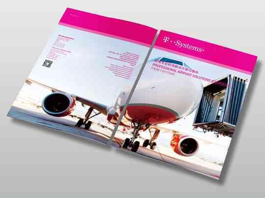 视觉传达画册设计T-Systems德国电信视觉传达方案