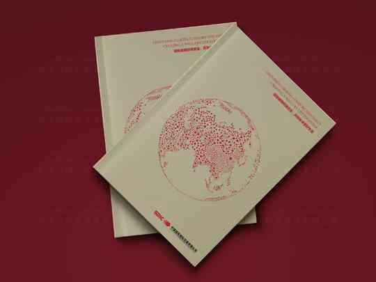 视觉传达画册设计国投贸易视觉传达方案