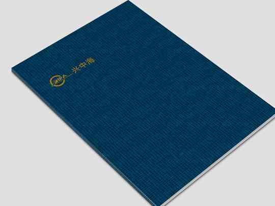 咨询公司画册设计