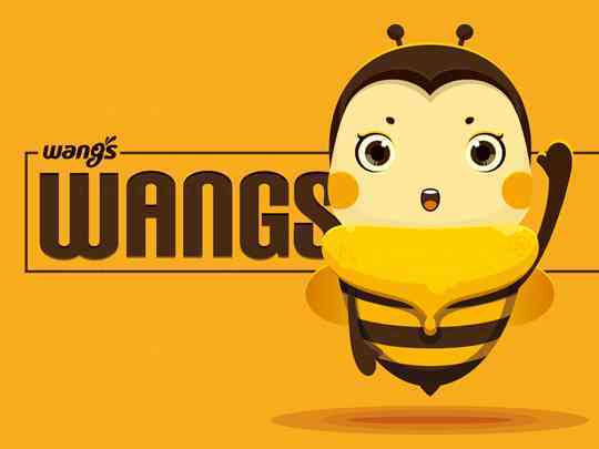 视觉传达汪氏卡通形象原型设计汪氏蜜蜂园视觉传达方案
