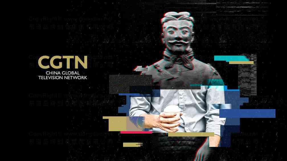 视觉传达案例CGTNCGTN兵马俑系列广告设计