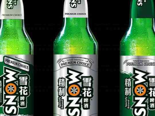 产品包装品牌包装雪花啤酒产品包装方案