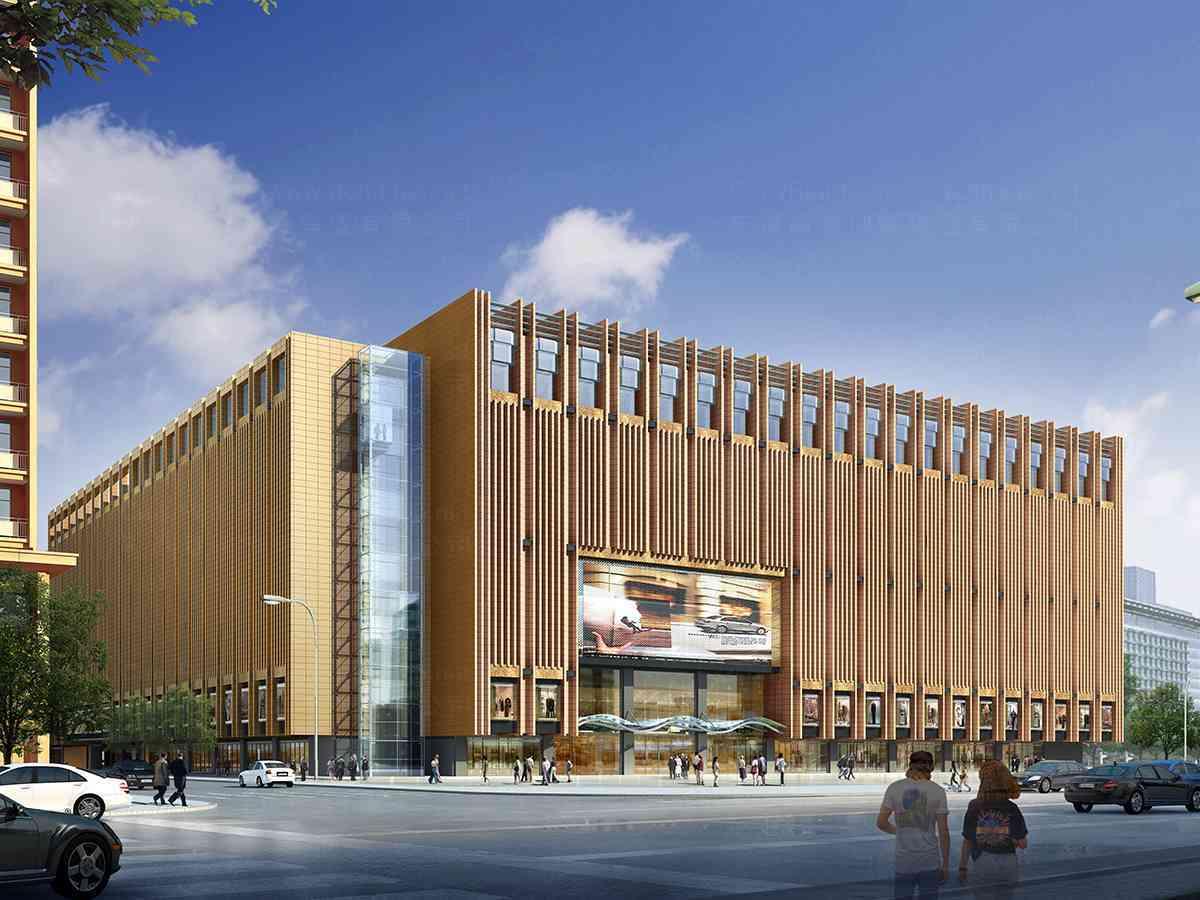 商业空间&导示环境导示新燕莎金街购物中心商业空间&导示方案
