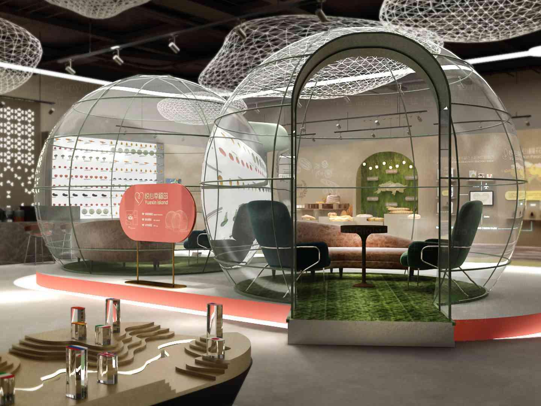 商业空间&导示SI设计悦心生活商业空间&导示方案